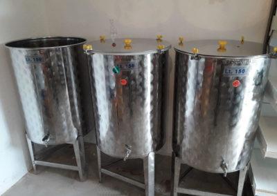 Les 3 fermenteurs